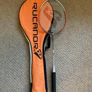 Rucanor Badminton Racket, with Bag