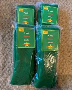 4 x Green Sports Socks