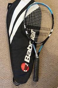 "Babolar Tennis Racket, with bag, 27"""