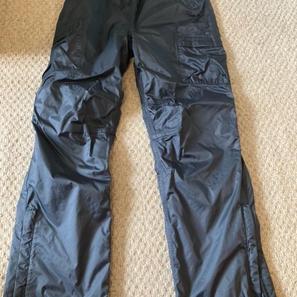 The Kit, Black Waterproof Trousers