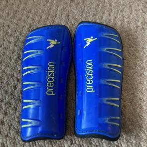 Precision  Blue Shin pads