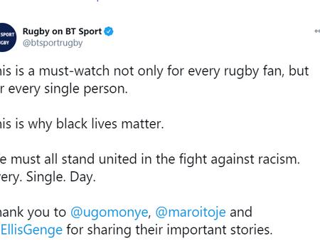 BT Sports - video on race