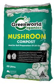 Greenworld Mushroom Compost 25 litre