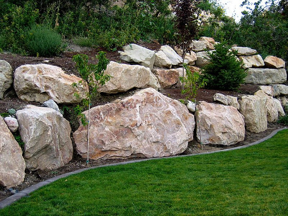 Boulders by the trailer load