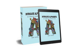 Intricate Alphabets Book Cover