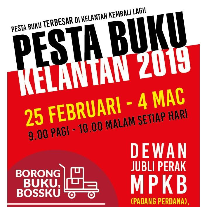Pesta Buku Kelantan 2019