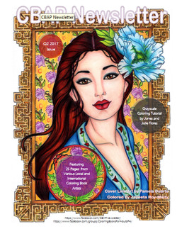 Featured Artist in Coloring Book for Adults Philippines