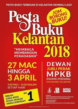 Pesta Buku Kelantan 2018