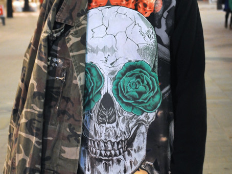 Nothing but a little Camo, Skull and Flannel