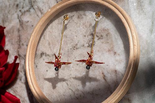 Azumi Drop Crane Earring