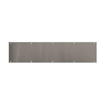 3' Stainless steel kickplate