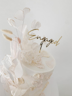 Engaged Textured Buttercream