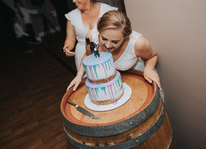 Our dream wedding cake