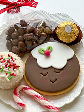 Pudding cookie gift box