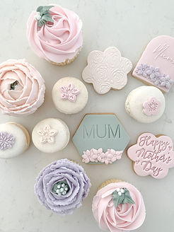 Mother's Day Treats Cupcakes & Cookies