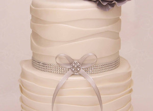 Our beautiful engagement cake
