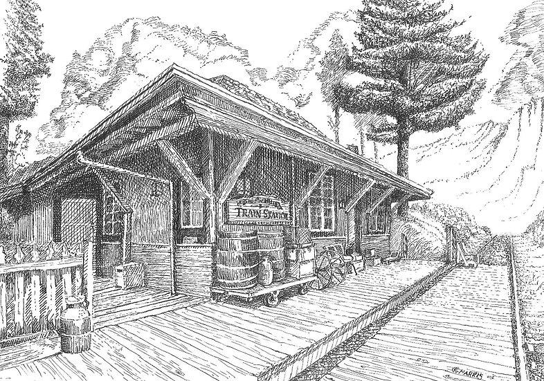 MOUNTAIN TRAIN STATION