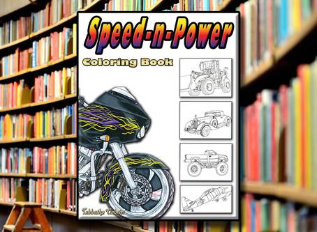 Speed-n-Power Coloring Book