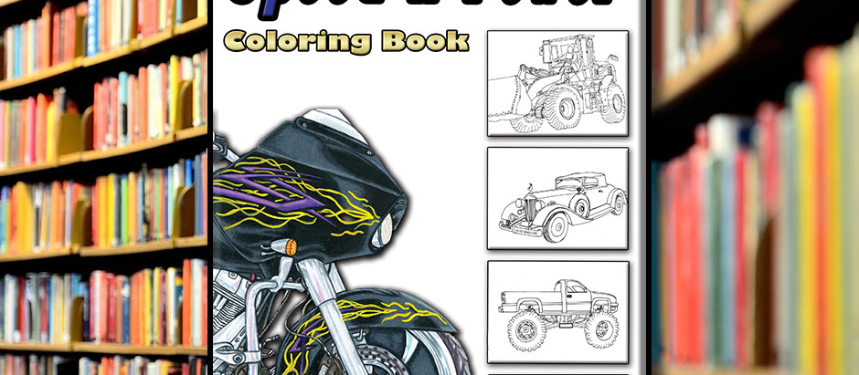 Speed-n-Power Coloring Book