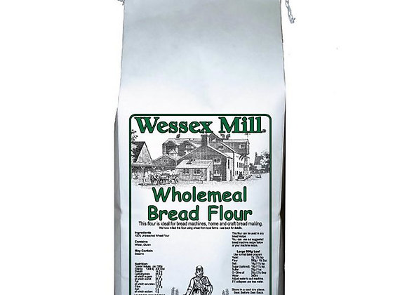 Wessex Mill Wholemeal Bread Flour - 1.5kg