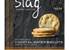 Stag Cocktail Water Biscuits 125g
