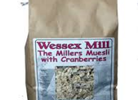 Wessex Mill Muesli with Cranberries 1kg