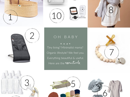 The Minimalist Mama's Guide To New Baby Essentials