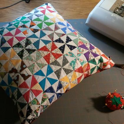 Pinwheel Pillow