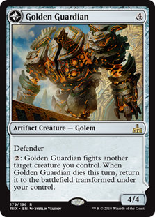 Golden Guardian   Gold-Forge Garrison
