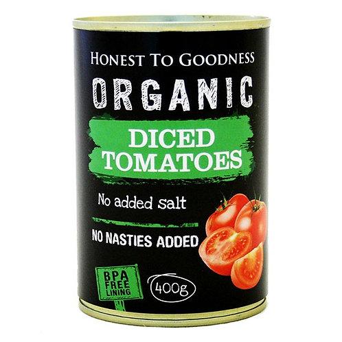 Organic Diced Tomatoes 400g