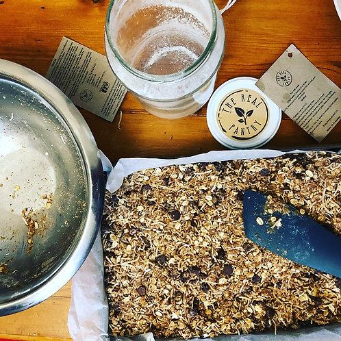 Choc Oat Cookie Recipe Jar