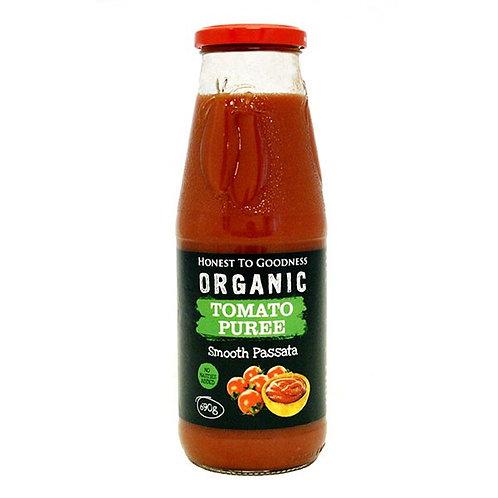 Organic Tomato Puree 690g