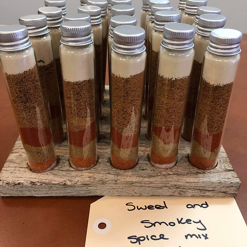 Sweet and Smokey spice mix tube