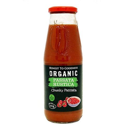 Organic Passata Rustica 680g