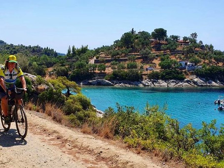 "The Halkidiki Holiday - Sweaty Summer Cycling in Greece's ""Jewel of the North"""