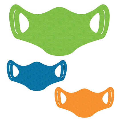 Basic Face Mask, packages of 5, 10 and 25