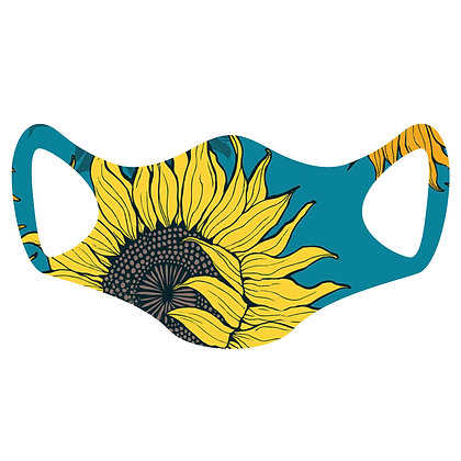 Sunflower Face Mask, package of 5, 10 and 25