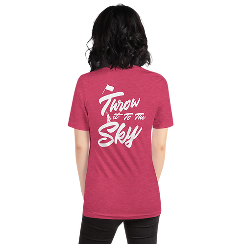 Throw it to the Sky T-Shirt (Flag Design)