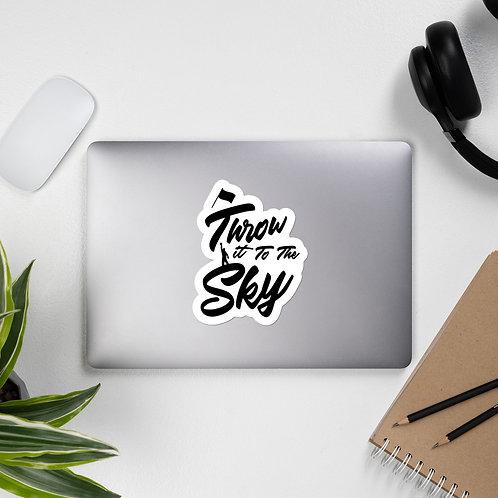 Throw it to the Sky Sticker (Flag Design)