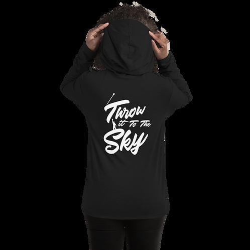 Throw it to the Sky (Mace Design) Unisex Lightweight Hoodie
