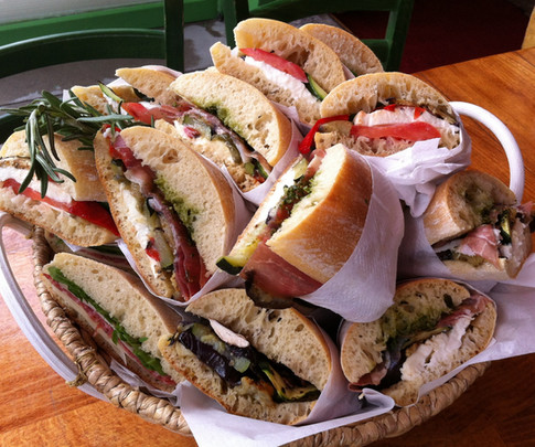 Panini selection basket