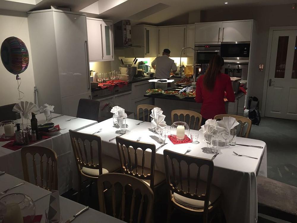Party preparations under way