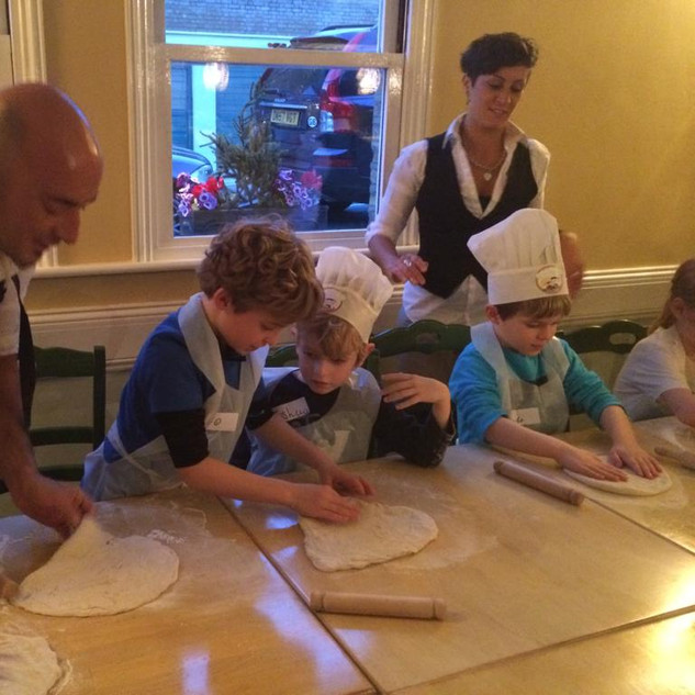 Getting to know the dough