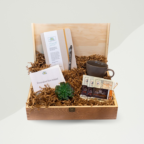 Journal and Tea Care Package - Pricing Varies