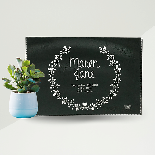 Personalized New Baby Gift