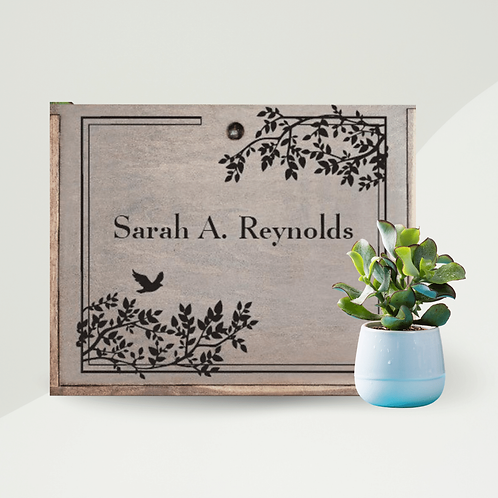 Signature Handmade Keepsake Box with Deluxe Sympathy Gift Set - Pricing Varies
