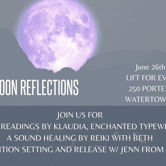 June Full Moon Reflections