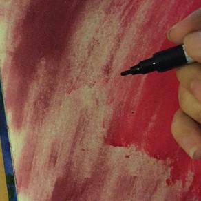 Art Journaling 6.19