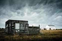 Mammatus Cloud-Farm House-Canterbury