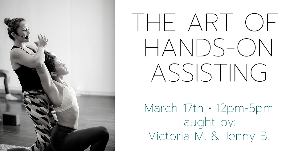 The Art of Hands-On Assisting